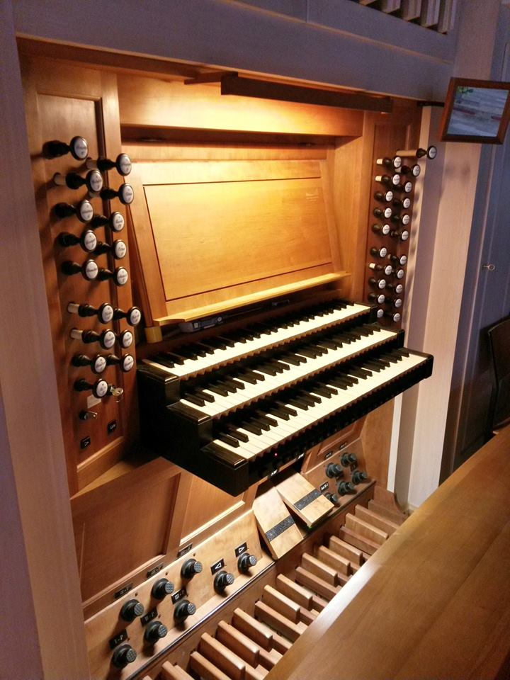 Backnang, Orgel in der Christkönigkirche