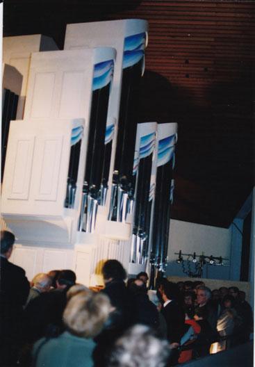 Einweihung der Kreisz-Orgel 1997