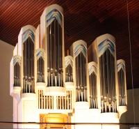 Backnang, Orgel in der Christkönigkirche, Foto: Andrea Wahl