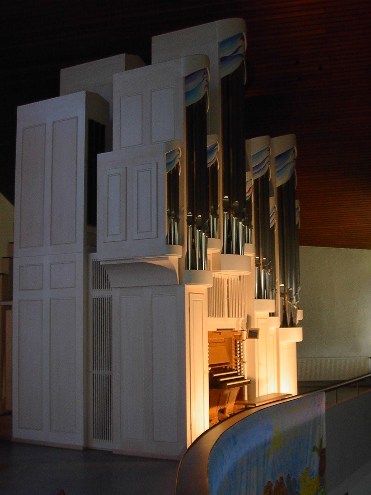 Kreisz-Orgel, Christkönigskirche Backnang, Foto: Reiner Schulte