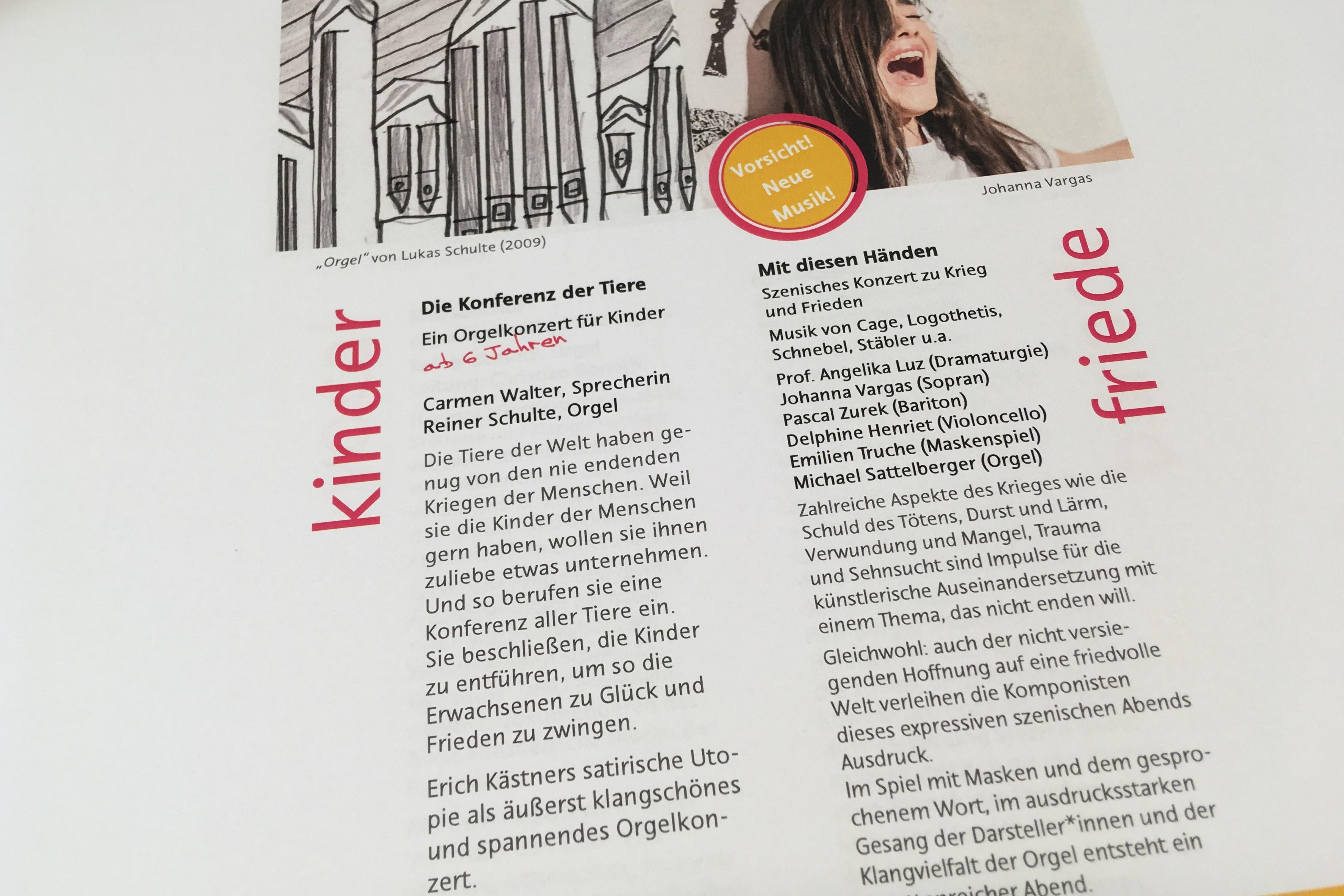 Konzertkalender Kirchenmusik Backnang 2019