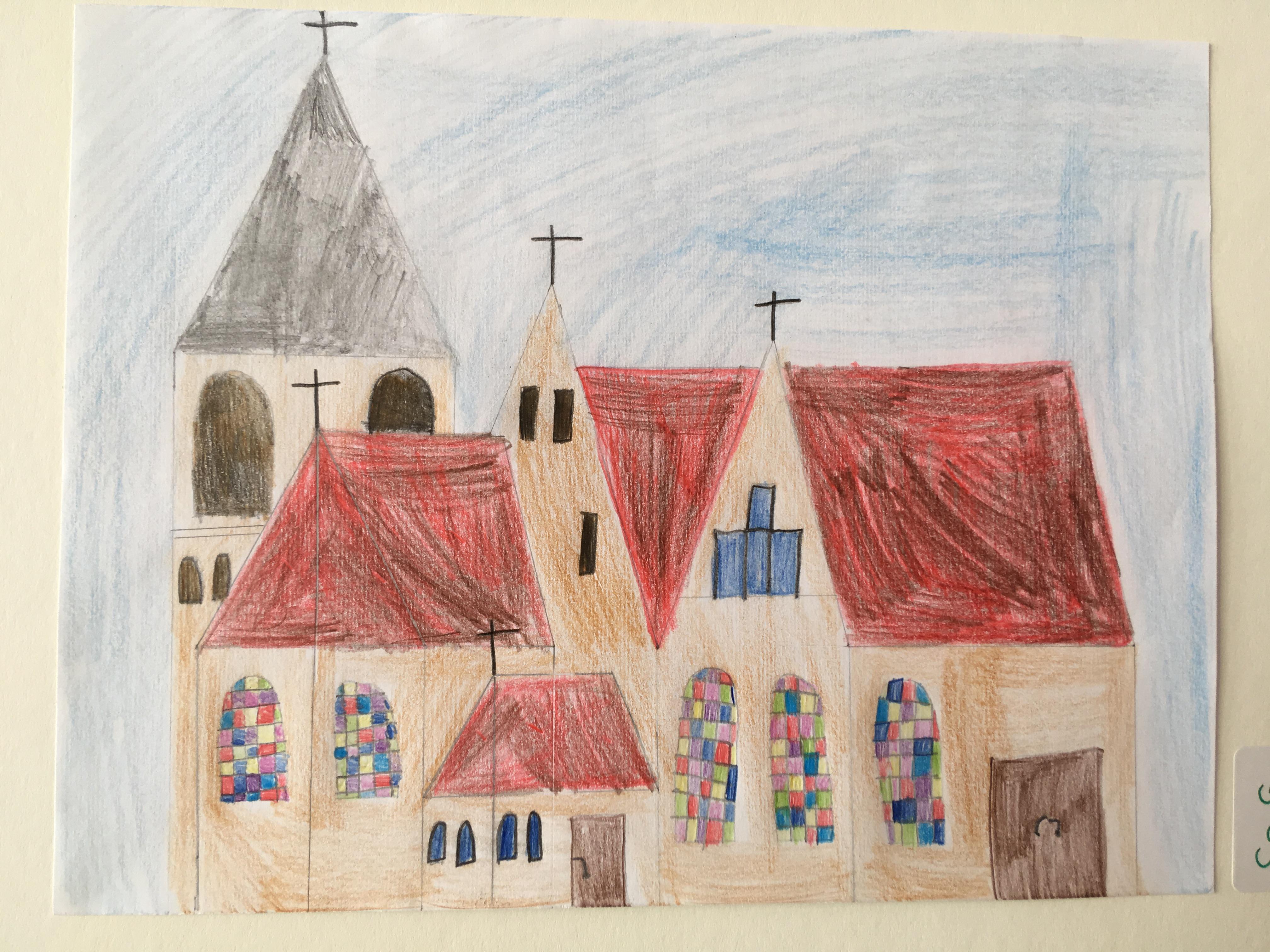 Bilder des Malwettbewerbs - Katholische Kirche Backnang