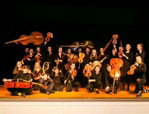 Landesjugendbarockorchester BW konzertiert am Straßenfestsonntag
