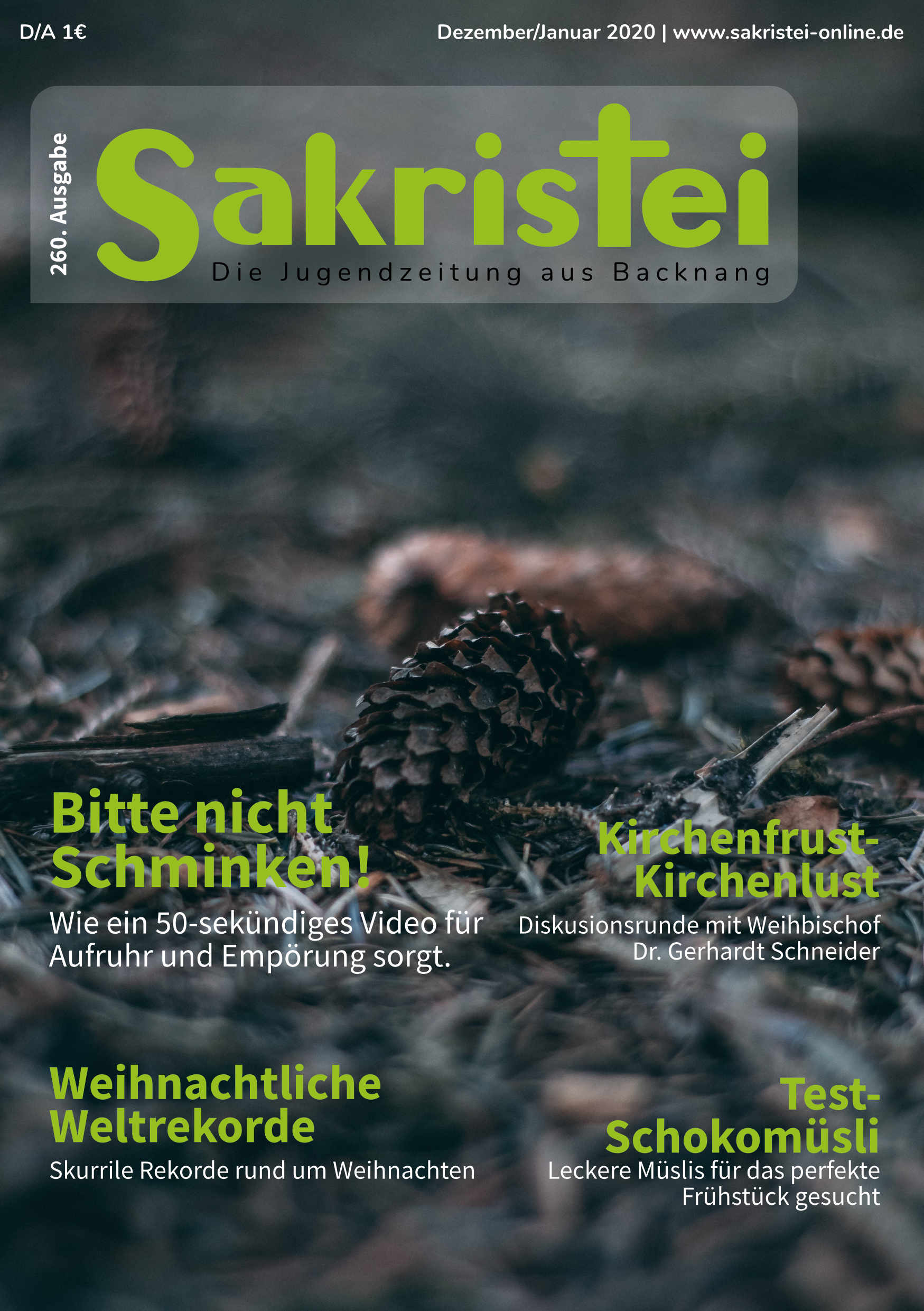 Sakristei Titelblatt 260