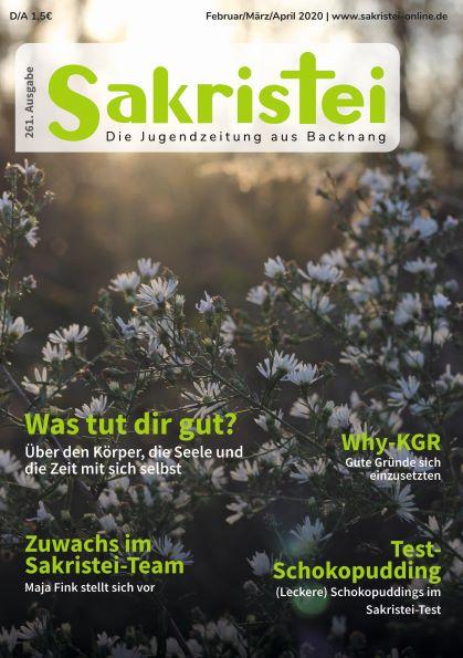 Sakristei Titelblatt Ausgabe 261