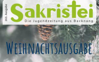Weihnachtsausgabe-Sakristei